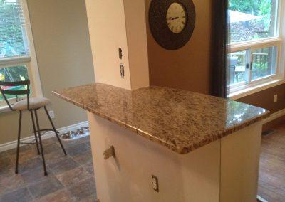 stone bar countertop