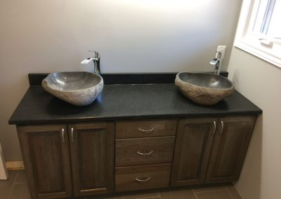 rustic granite sinks