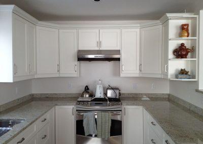 modern stone kitchen countertop