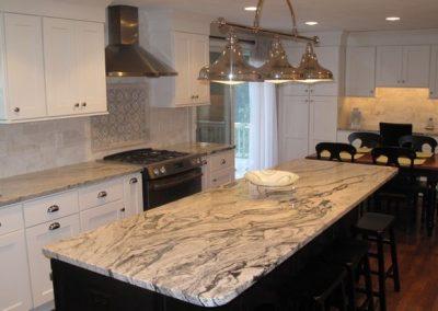 custom granite countertop in belleville